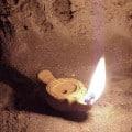 lampe allumée