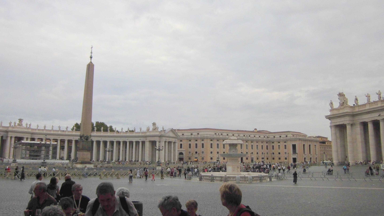 A Rome fin septembre 2O14…