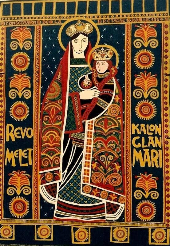 SAINTE ANNE D'AURAY 8 mai 2018 – Enseignement de Bernadette Tual – Tisserand membre de la Communauté de l'Emmanuel