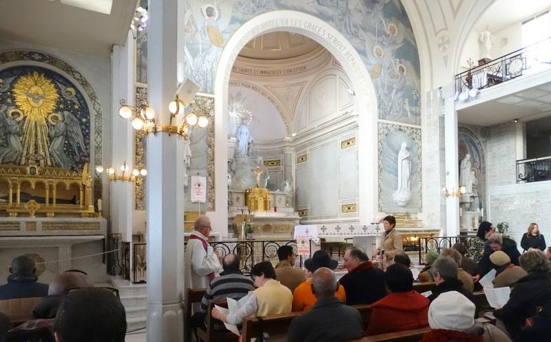 Témoignage donné lors du pèlerinage  rue du Bac Paris