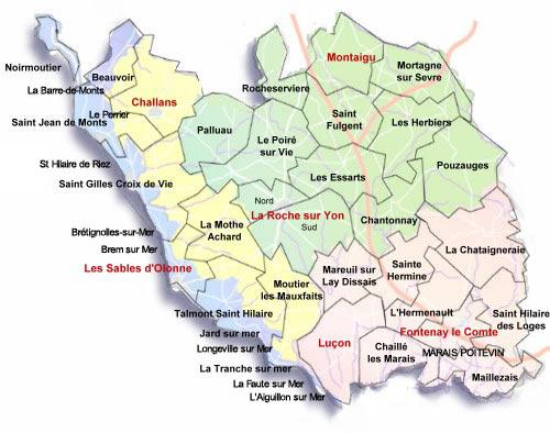 Les pèlerins baladeurs aux Herbiers (Vendée)