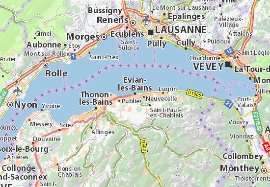 Pèlerinage en Suisse…à Evian