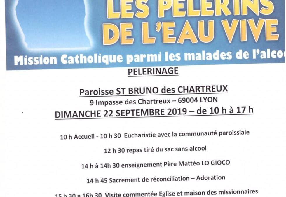 Pèlerinage à Lyon, dimanche 22 septembre
