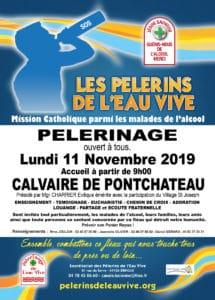 Pèlerinage 2019 des Pèlerins de l'Eau Vive au Calvaire de Pont-Château